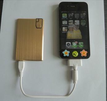 Переносное аккумулирующее устройство Power bank c USB диском  4