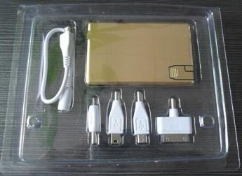 Переносное аккумулирующее устройство Power bank c USB диском