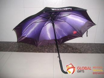 Двухслойный купол зонта. Фото 11