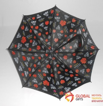 Двухслойный купол зонта. Фото 8