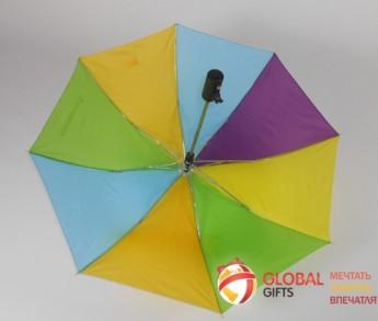 Зонт радуга. Фото 8
