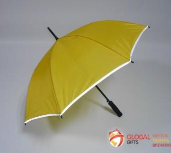 Зонт со светоотражающим покрытием. Фото 3