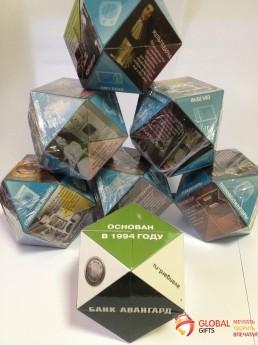 Кубик трансформер. Форма бриллиант. Размер 70. Фото 15