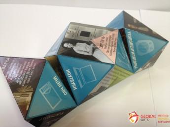 Кубик трансформер. Форма бриллиант. Размер 70. Фото 8