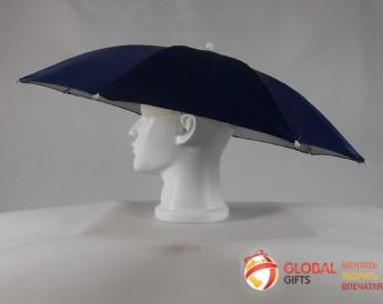 Промо зонт на голову. Фото 1