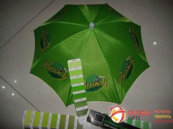 Промо зонт на голову. Фото 2
