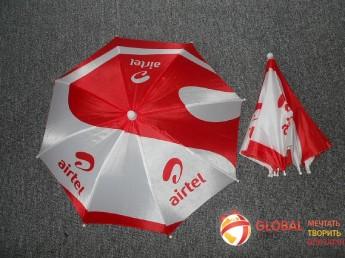 Промо зонт на голову. Фото 3