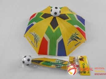 Промо зонт на голову. Фото 6