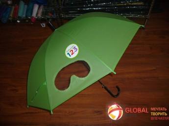 Промо зонт прозрачный. Фото 2