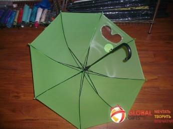 Промо зонт прозрачный. Фото 3