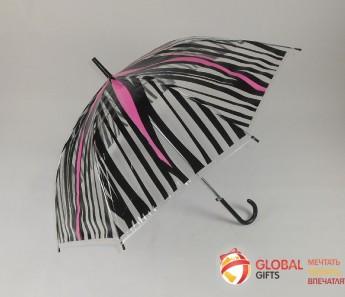 Промо зонт прозрачный. Фото 6