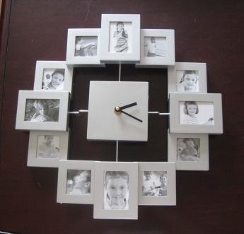 Часы настенные с фоторамками Фото 1