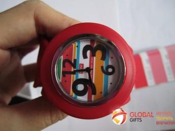 Часы слэп. Цвет по Pantone. Фирменная символика заказчика. Фото 3