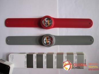 Часы слэп. Цвет по Pantone. Фирменная символика заказчика. Фото 4