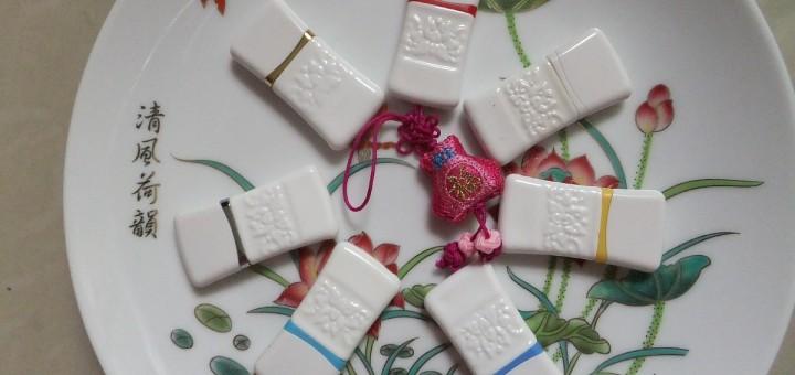 USB flash (флэшка) пластмассовая восточный стиль. Фото 3