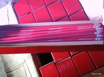 мягкий карандаш Аэрофлот красный