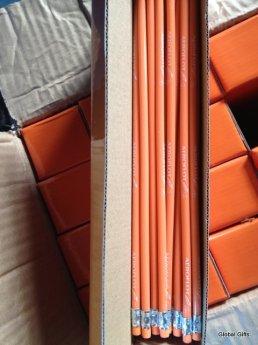 мягкий карандаш Аэрофлот оранжевый