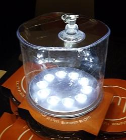 Надувной светильник на солнечной энергии 2