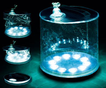 Надувной светильник на солнечной энергии 3
