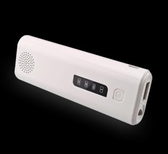 Power bank универсальный с фонариком, аудио динамик и кнопка управления вспышкой телефона, блютуз 12