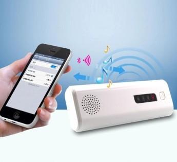 Power bank универсальный с фонариком, аудио динамик и кнопка управления вспышкой телефона, блютуз 3