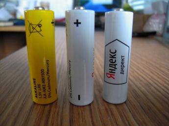 Батарейки с логотипом фото2