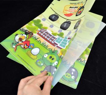 Папки конверты уголки из пластика Фото 2