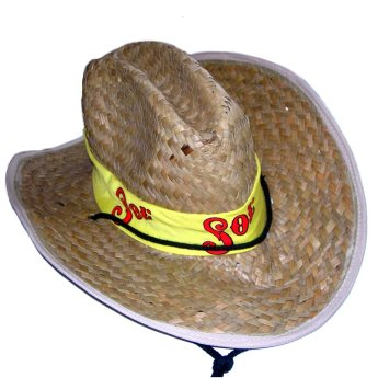 Соломенная шляпа изготовлена на заказ Фото 1