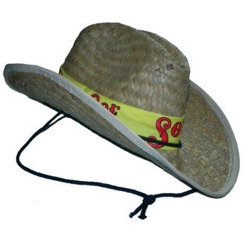 Соломенная шляпа изготовлена на заказ Фото 2