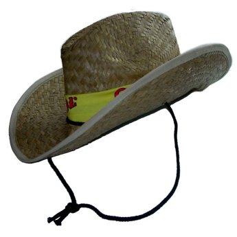 Соломенная шляпа изготовлена на заказ Фото 3