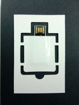 USB flash ключ бумажная флэшка с автозапуском ссылки Фото 1