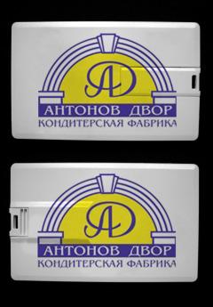 USB flash флэшка  размером с кредитку Фото 3