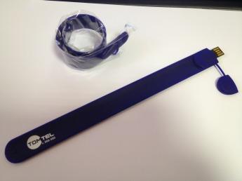 USB flash флэшки СЛЭП браслеты из силикона