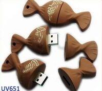 USB flash PVC флэшка из ПВХ по индивидуальному дизайну в виде концфет фото 1
