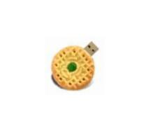 USB flash PVC флэшка из ПВХ по индивидуальному дизайну в виде печенья фото 2