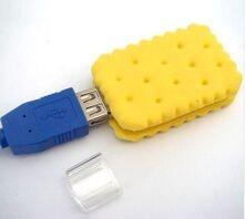 USB flash PVC флэшка из ПВХ по индивидуальному дизайну в виде печенья фото 5
