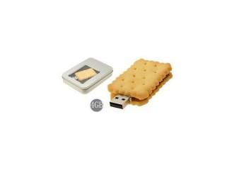 USB flash PVC флэшка из ПВХ по индивидуальному дизайну в виде печенья фото 7