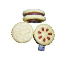 USB flash PVC флэшка из ПВХ по индивидуальному дизайну в виде печенья