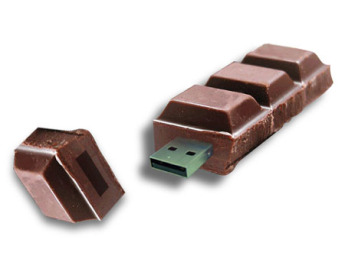 USB flash PVC флэшка из ПВХ по индивидуальному дизайну в виде шоколада