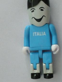 USB flash PVC флэшка из пластика в виде человечков фото 4