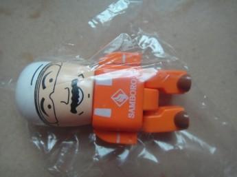 USB flash PVC флэшка из пластика в виде человечков фото 6