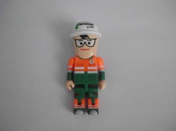USB flash PVC флэшка из пластика в виде человечков фото 9