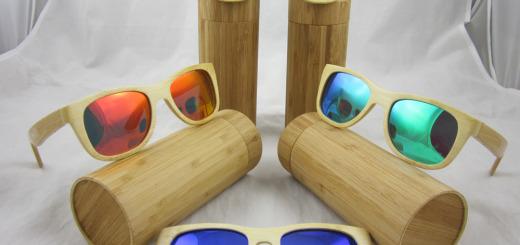 Деревнные солнечные очки Фото 13