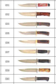 Ножи охотничие Фото 1