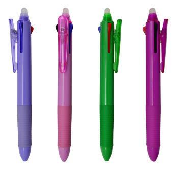 Ручка шариковая трехцветная Фото 1