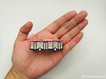 Флешка ПВХ автобус 500 штук фото 2