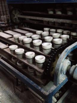 Сушка керамики.