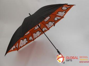 Двухслойный купол зонта. Фото 9