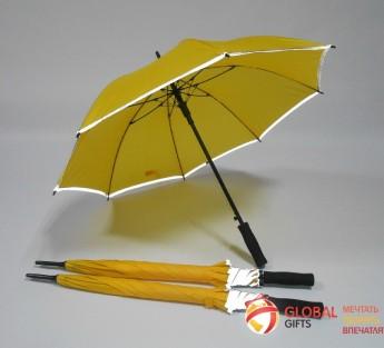 Зонт со светоотражающим покрытием. Фото 4