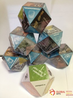 Кубик трансформер. Форма бриллиант. Размер 70. Фото 13